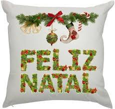 10102c81dec31c Kit 5 Capa Almofada Natal Decorativa Papai Noel Frete Gratis