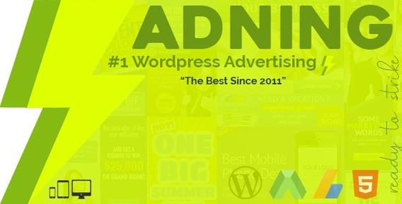 Adning Advertising - Gerenciador De Anúncios Para Wordpress