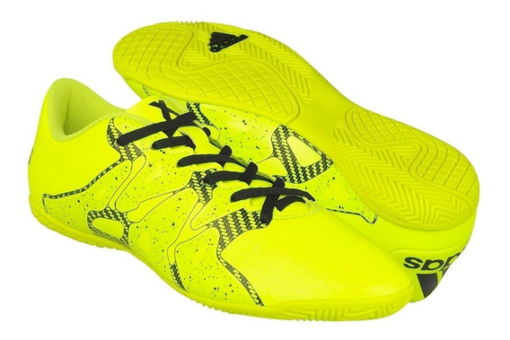 Tenis Casual adidas Para Hombre Simipiel Amarillo Con Negro
