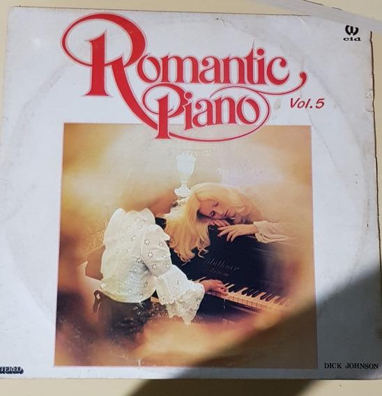 Romantic Piano V5, Dick Johnson - Vinil Lp