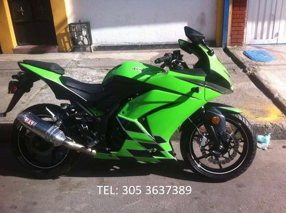 Kawasaki Ninja Ex 250 Año 2012