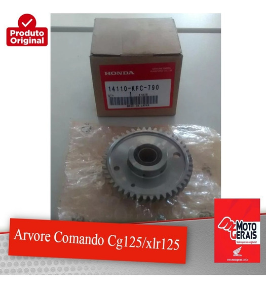 Arvore Comando Cg125/xlr125-original Honda-99/04