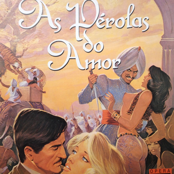 Hq - As Pérolas Do Amor - Georges Lévis & Francis Leroi