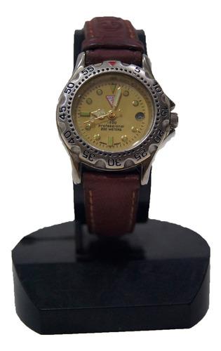 Relógio De Pulso Guess Dourado