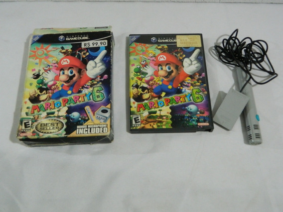 Mario Party 6 Original Para Game Cube - Completa