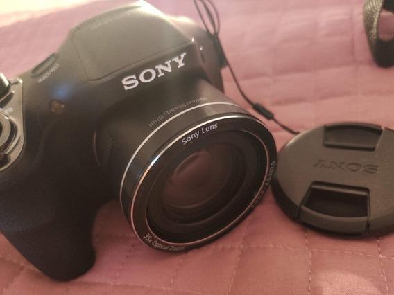 Câmera Sony Dsc-h300 -semi-nova Impecável