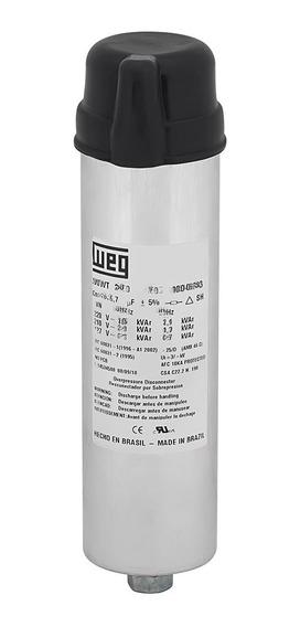 Capacitor Trifásico Weg Ucwt3v49 L10 3.0 Kvar