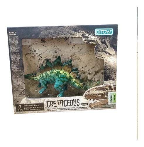 Imagen 1 de 1 de Cretaceous Dinosaurios 14 Cm Estegosaurio