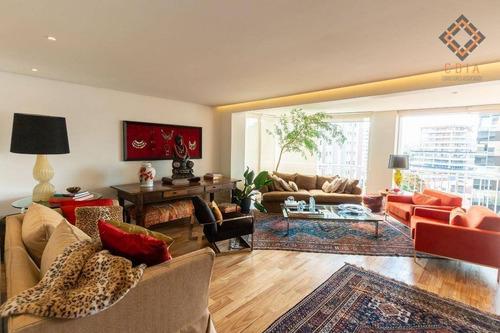 Apartamento Com 2 Dormitórios À Venda, 185 M² Por R$ 4.100.000,00 - Itaim - São Paulo/sp - Ap54308