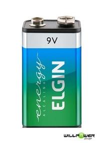 Bateria 9v Alcalina Elgin 1 Unidade