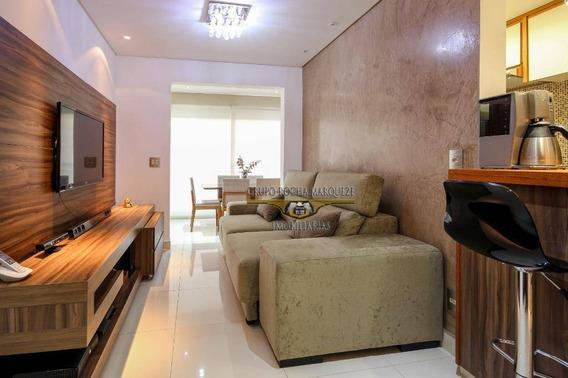 Apartamento Com 2 Dormitórios À Venda, 68 M² Por R$ 600.000,00 - Belenzinho - São Paulo/sp - Ap2234