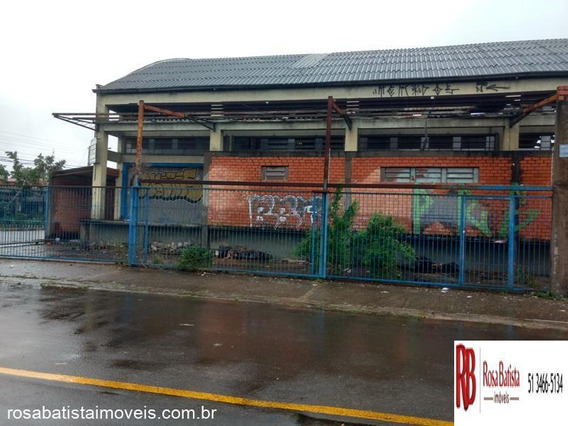 Galpão/ Depósito/ Pavilhão Localizado(a) No Bairro Mathias Velho Em Canoas / Canoas - P002