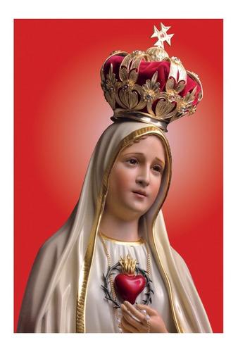 Lienzo Lienzografía Virgen María Impresión Reproducción60x90