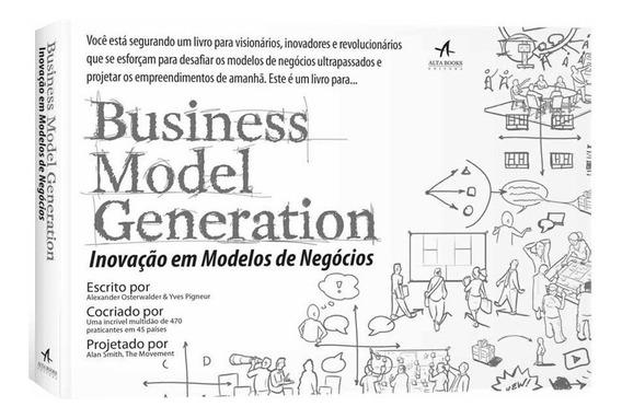 Business Model Generation Livro Alexander Oster Frete Grátis