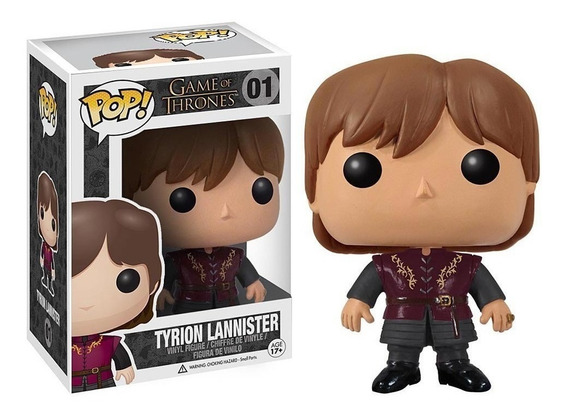 Figura Funko Pop 01 Tyrion Lannister Game Of Thrones Oferta!
