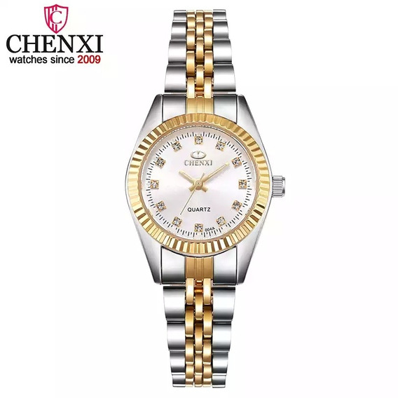 Relógio Feminino Dourado Barato E De Qualidade