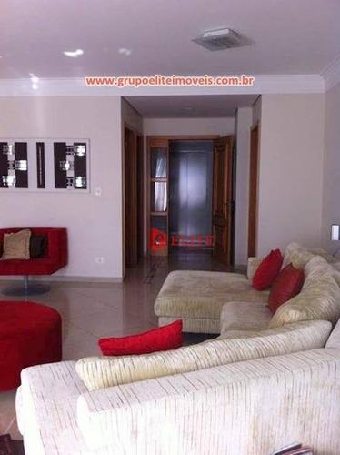 Imagem 1 de 11 de Apartamento Com 3 Dormitórios À Venda, 199 M² Por R$ 1.800.000,00 - Jardim Aquarius - São José Dos Campos/sp - Ap3325