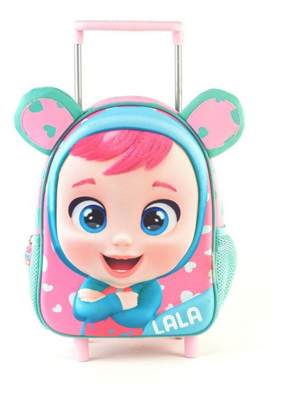 Mochila Carrito Cry Babies 3d 15 Lala 98303