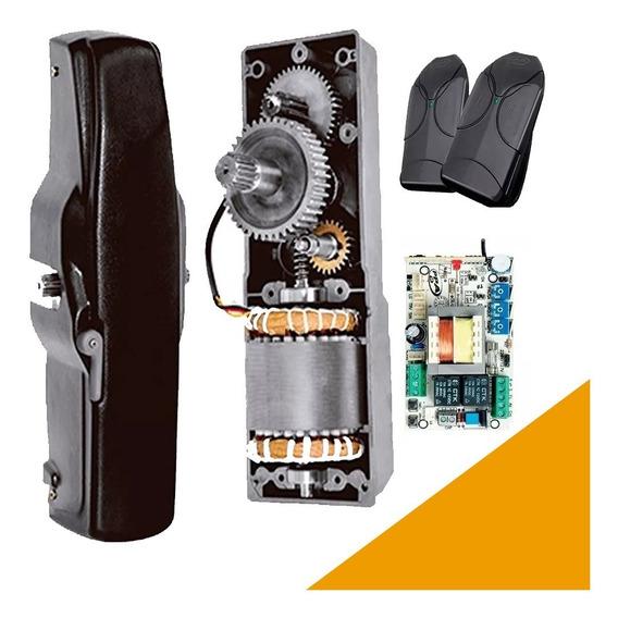 Motor Portón Levadizo Automático Torsion Ppa 450kg Kit Completo 1/2hp Engranajes De Acero Y Bronce Fh Automatizaciones