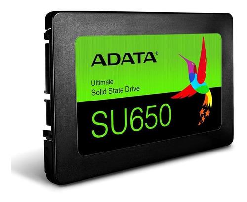 Disco De Estado Solido Adata Ssd 120gb Asu650ss 120gt-c