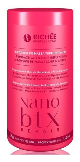 Richée Nano Btx Repair Repositor De Massa Máscara 1kg