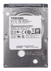 Disco Rígido Hd 320gb Notebook Sata2 Toshiba 7mm Slim