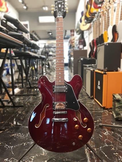 Guitarra Electrica Tokai Tipo 335 Es73 Bordo Traslucido