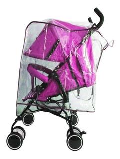 Plastico Protector De Lluvia Forro Para Paseador De Bebe