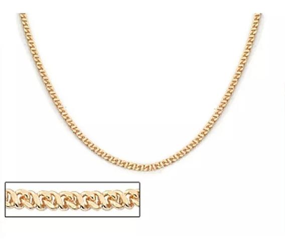 Cordão Folheado A Ouro Fio Diamantado - Tam.50 530361