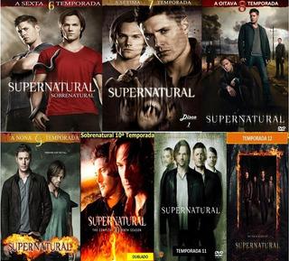 Sobrenatural - As 13ª Temporadas Completas Dublado