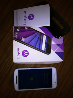 Celular Motorola G. Impecable, Con Funda , Cargador, M/libre
