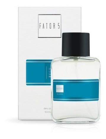 Kit 3 Perfumes Fator 5 60ml - Faça Sua Escolha