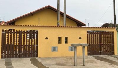 Casa Nova Com Documento Para Financiar Em Itanhaém.
