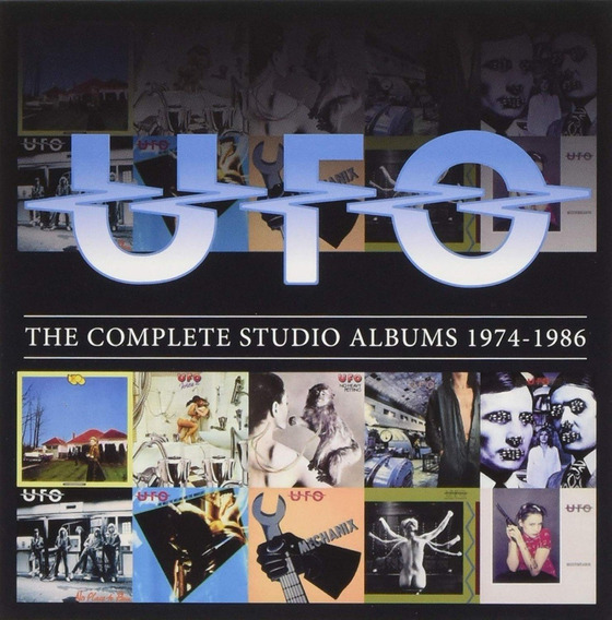 Ufo - The Complete Studio Albums 1974-1986 Box 10 Cds