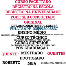 Médio,curso Técnico,curso Superior ((035992098837)))whatsapp