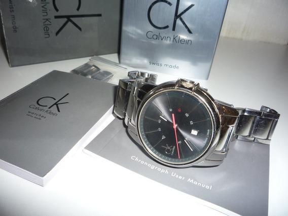 Relógio Calvin Klein Swiss Made Masculino Original