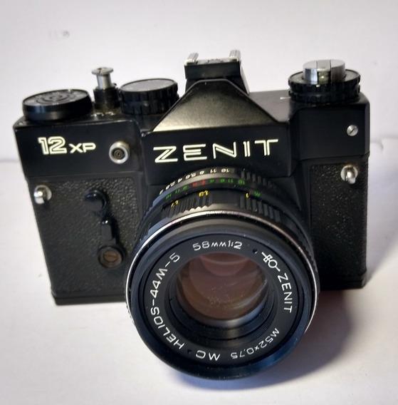 Câmera Fotográfica- Zenit 12xp - Made In Ussr - Rússia