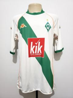 Camisa Oficial Werder Bremen Alemanha 2004 Away Kappa G
