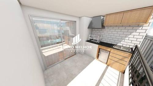 Imagem 1 de 14 de Apartamento Em Condomínio Para Venda - Ermelino Matarazzo / Jardim Matarazzo Com Varanda Gourmet, 2 Dormitórios, 1 Vaga - Ap1127 - Ap1127