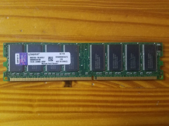 Memoria Kingston Ddr 1gb 400hz Kvr400x64c3a/1g