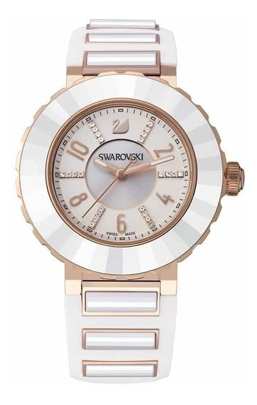 Reloj Swarovki Color Blanco, Negro , Morado $8,299