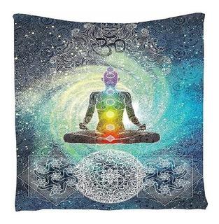 Mandala Textil/buda-chakras/yoga/cubrecama/decoración