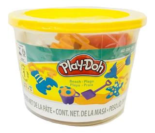 Play Doh Cubetas De Playa Hasbro