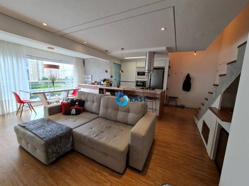 Belíssimo Apartamento Com 1 Dormitório À Venda, 87 M² - Campo Belo - São Paulo/sp - Ap10966