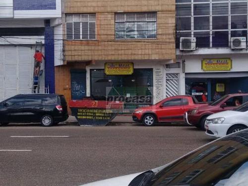 Loja Para Alugar, 115m² Por R$ 4.000,00/mês - Centro - Manaus/am - Lo0134