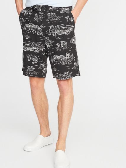 Short Hombre Casual Corte Slim Fit Algodón 392843 Old Navy