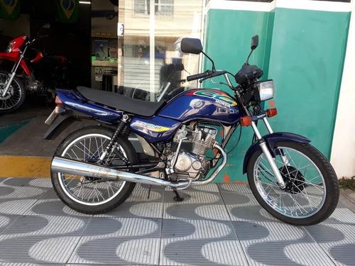 Imagem 1 de 6 de  Honda Cg Titan 125 Azul Novíssima!!!