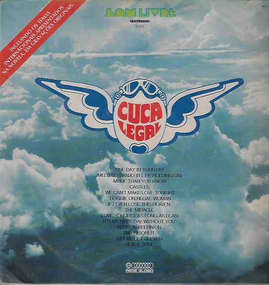 Lp Disco De Vinil Novela 1975 Cuca Legal Internacional