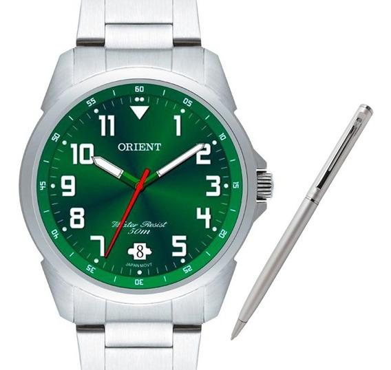 Relógio Orient Masculino Mbss1154a E2sx +brinde Caneta Crown