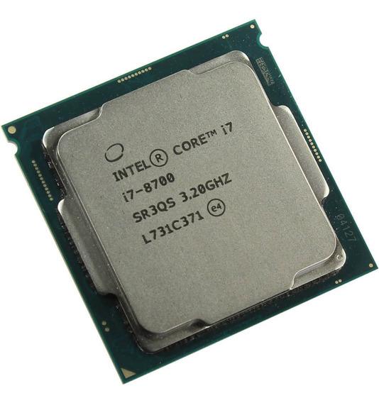 Processador Intel Core i7-8700 CM8068403358316 6 núcleos 128 GB